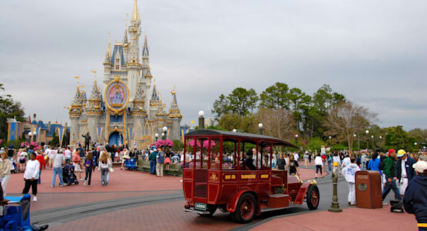Magic Kingdom at Walt Disney World Orlando Florida FL