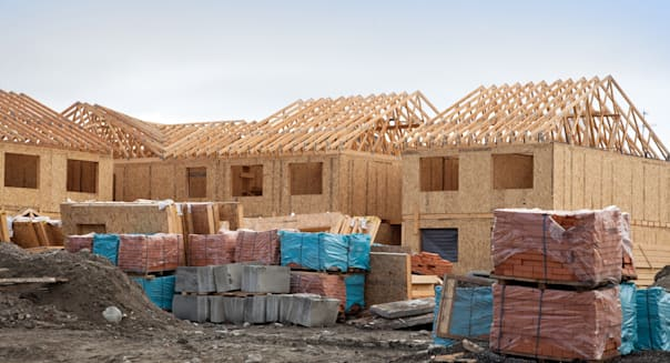 construction of new homes...
