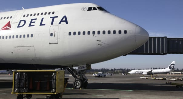 Delta air lines S&P 500 investing stocks market news