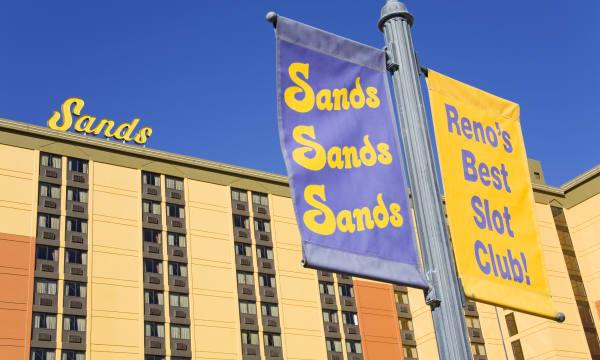 Sands Casino in Reno.