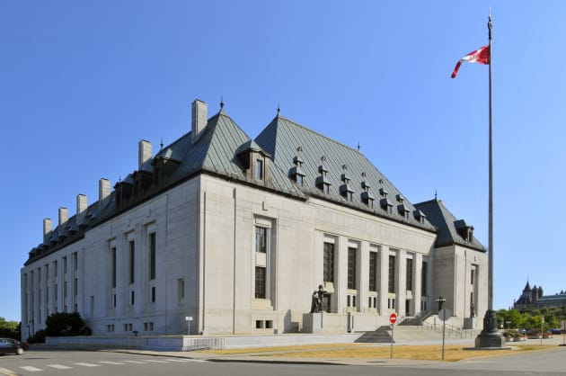 The Supreme Court building in