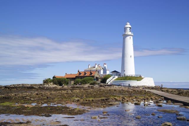 St Marys Lighthouse, Whitley Bay, Tyne and Wear, England