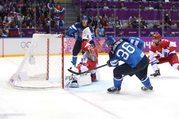 Ice Hockey - Winter Olympics Day 12 - Finland v Russia