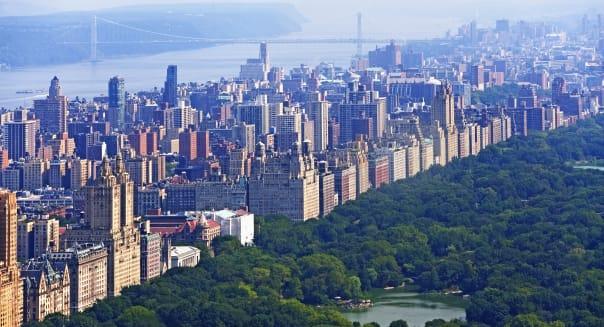 USA, New York State, New York City, New Jersey shore line