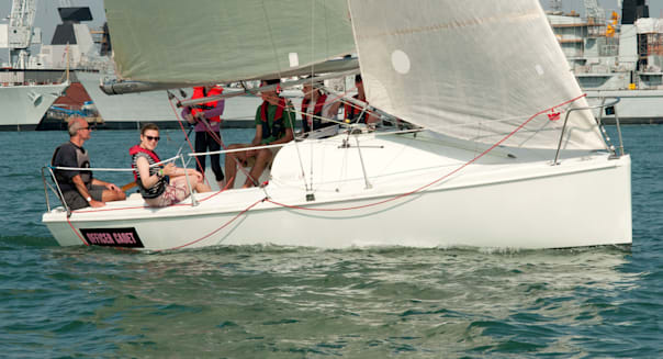 sailing school yacht Portsmouth Harbour