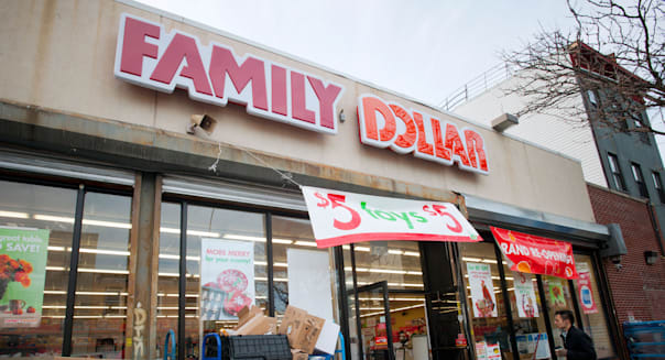 A newly renovated Family Dollar store in the Bedford-Stuyvesant neighborhood of Brooklyn in New York
