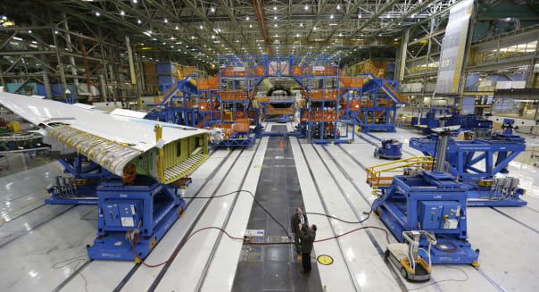 factory orders fall due to drop in transportation