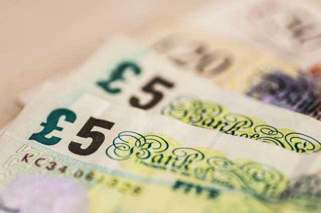 Old fivers stop being legal tender in two months