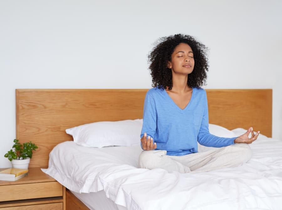 Introduce 5-10 minutes of meditation per
