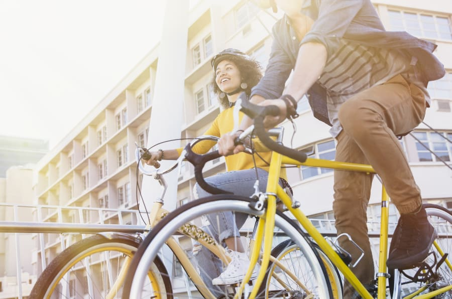 Cycle to work to boost energy and exercise at the same