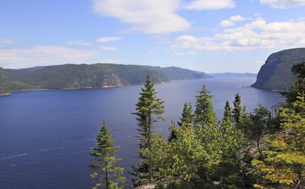 Saguenay Fjord, Quebec,