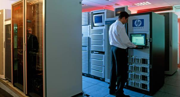 Hewlett Packard computer servers MDXZsm
