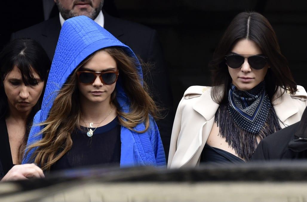 Paris Fashion Chanel Departures