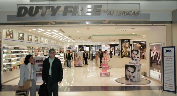 Florida Miami Miami International Airport MIA terminal concession business shopping store perfume duty free international travel