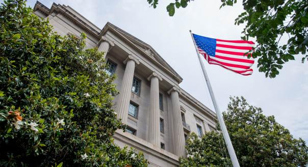Federal Building DOJ
