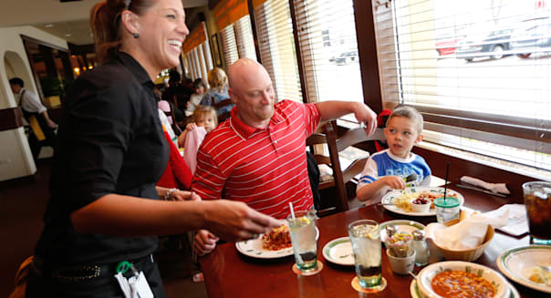 Olive Garden's Take Our Daughters and Sons to Work Day Celebration