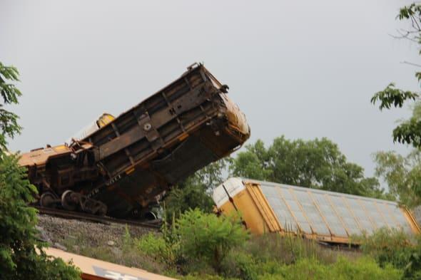 Virginia Train Derailment