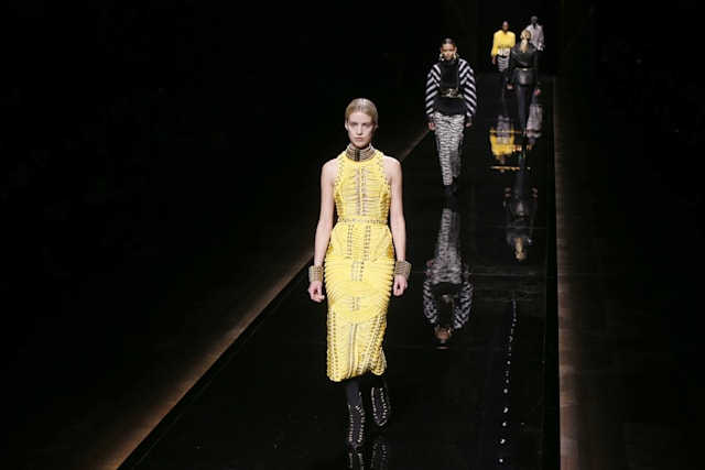 FASHION-FRANCE-BALMAIN