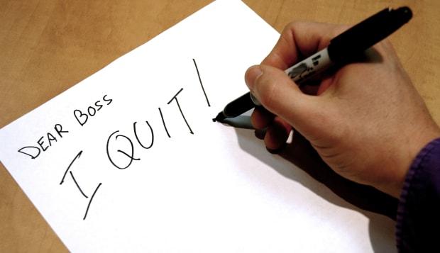 AY9RA6 I quit!