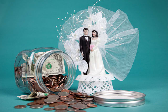Extent of wedding budget blues revealed