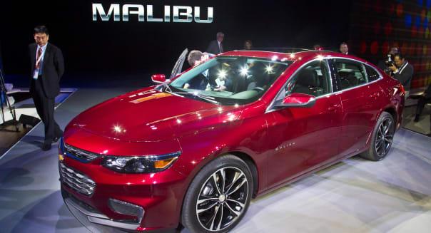 Auto Show Malibu Hot Cars
