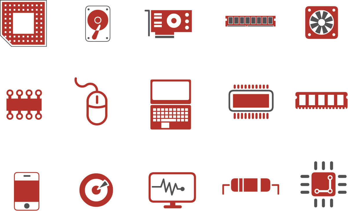 Hardware Icon Set