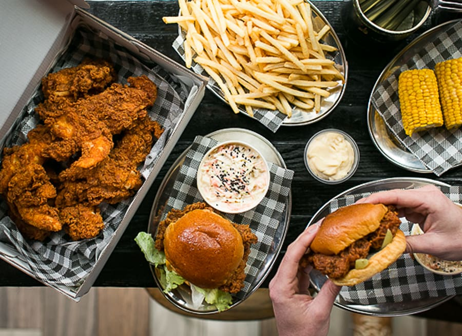 Butter, a hybrid sneaker, fried chicken and champagne bar in Surry Hills, is now available for