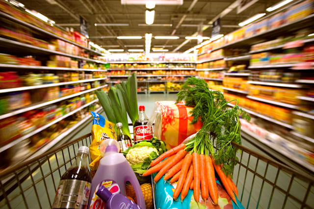 Supermarket trolley detox