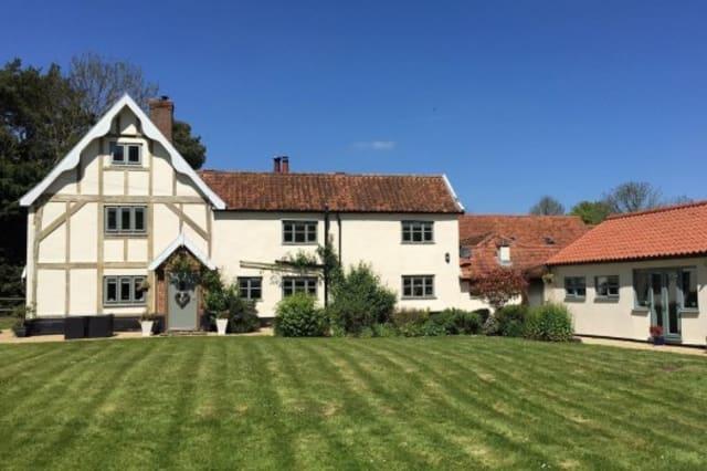 The charming farmhouse