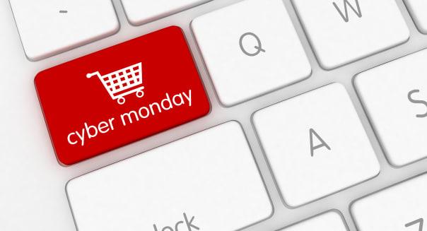 Cyber monday shopping sale