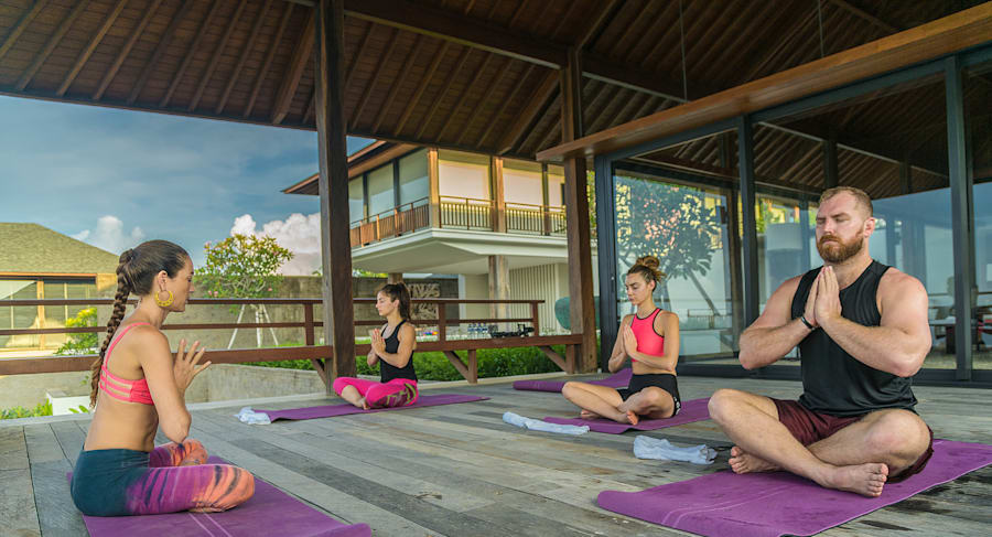 There's also daily massages and meditation at the Bali