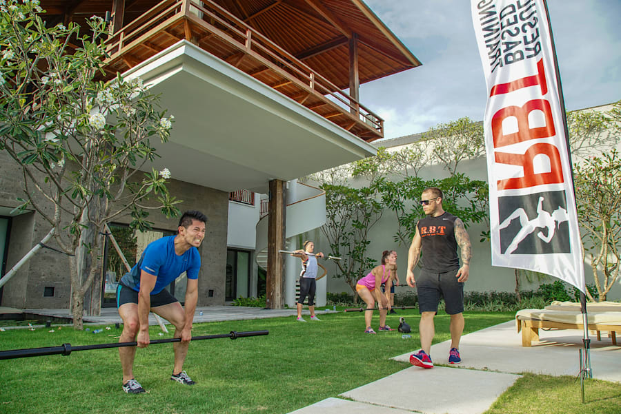 Australian gym Result Based Training operates a fitness retreat in