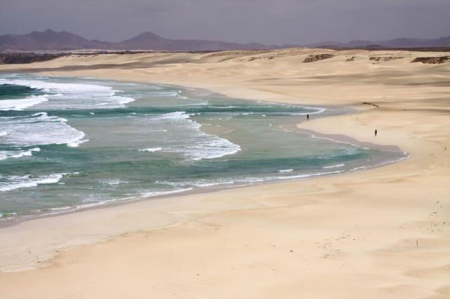 Boa Vista island (Republic of Cape Verde) : Curralinho Beach