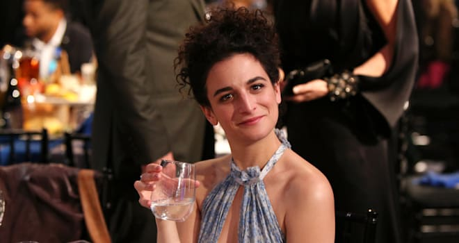 Jenny Slate talks about her breakup with Chris Evans