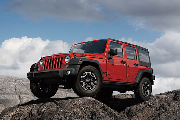 Jeep Wrangler Unlimited Rubicon Hard Rock