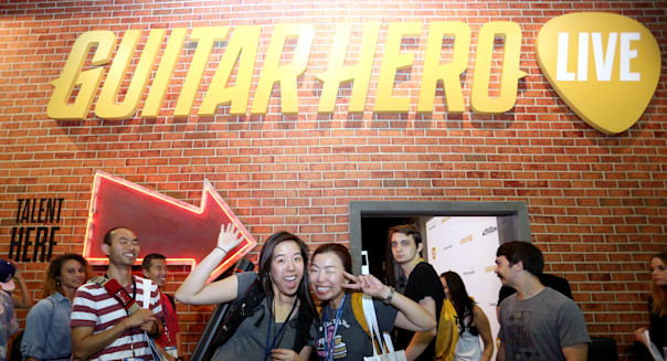 Activision Reveals Guitar Hero Live's GHTV At E3 2015 In Los Angeles