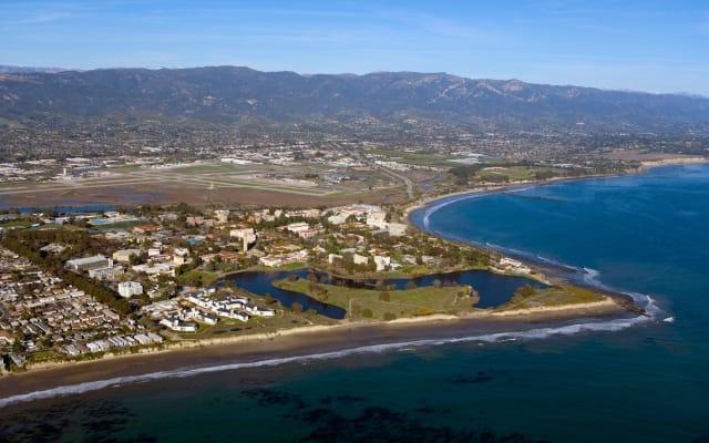 aerial University of California Santa Barbara, CA UCSB