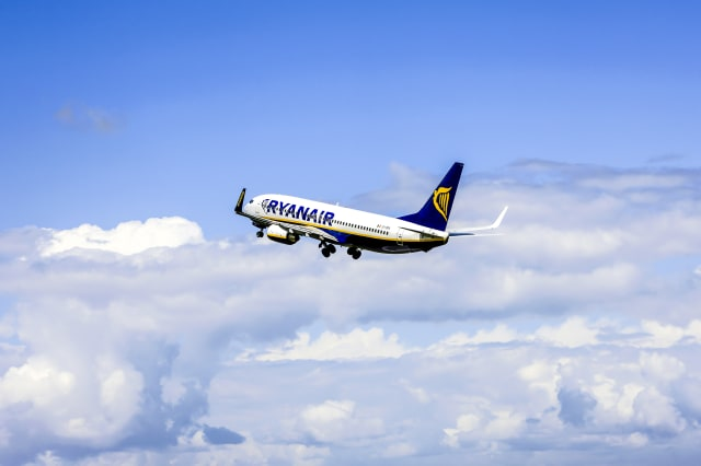 RyanAir Irish Budget Airlines Boeing 737-400 aircraft