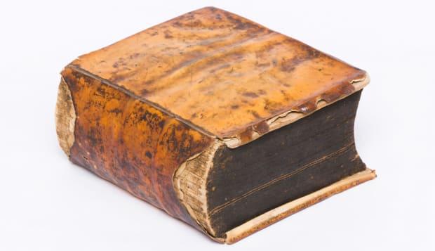 antique book old book