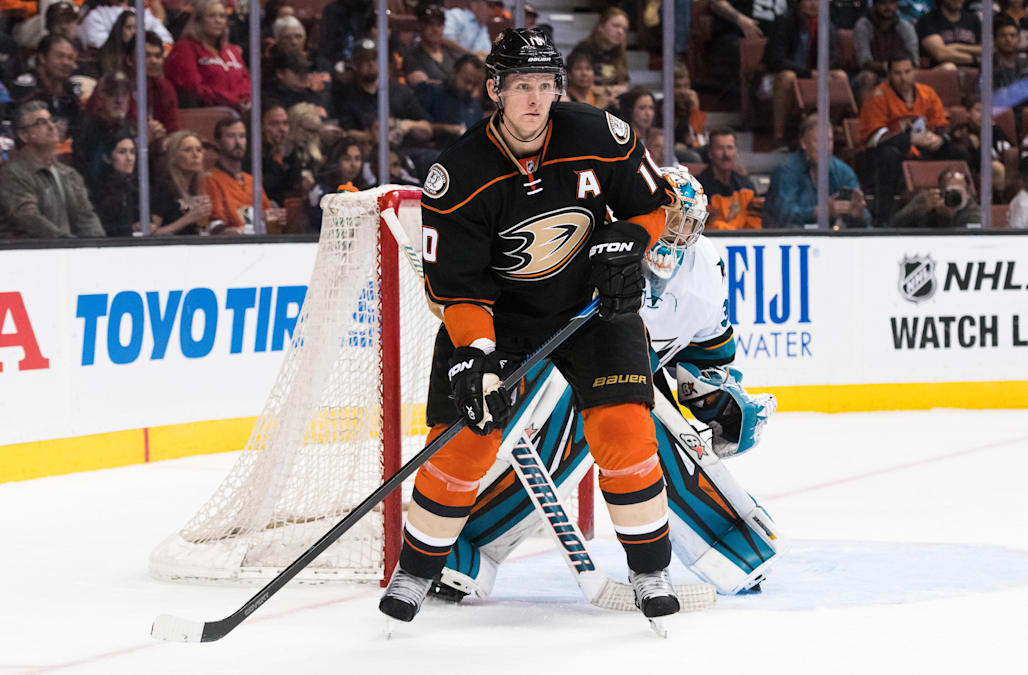 NHL: OCT 09 Preseason - Sharks at Ducks
