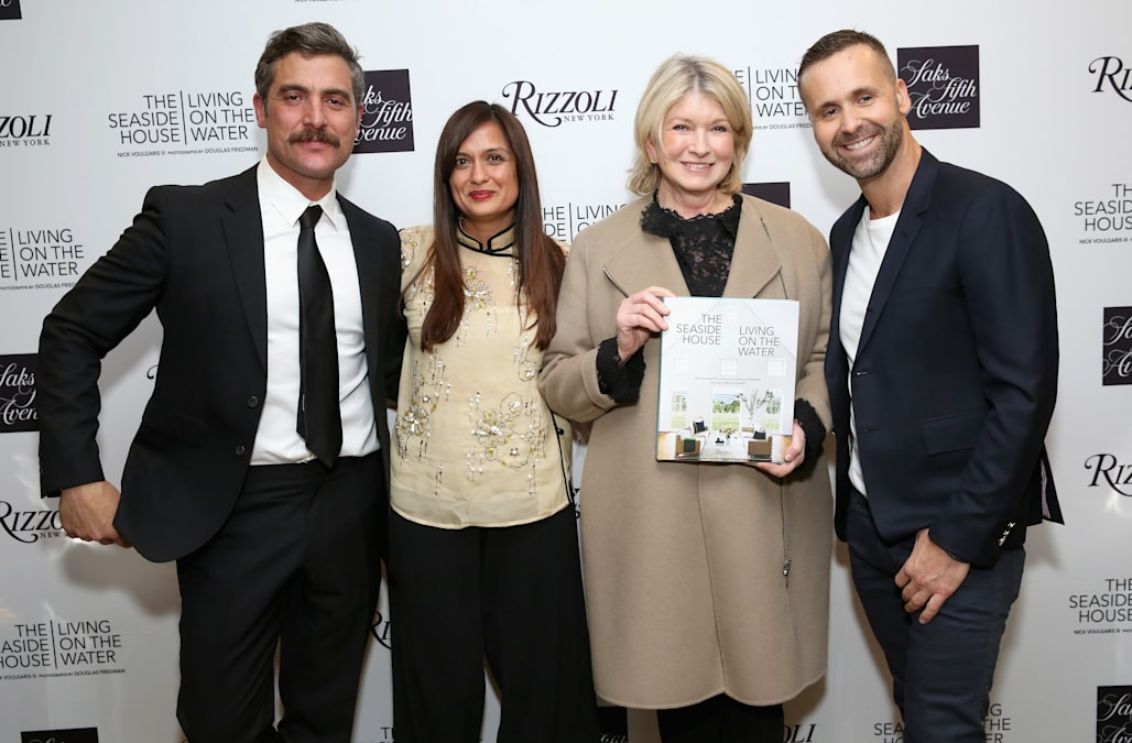 Martha Stewart book signing for The Seaside House: Living on the Water