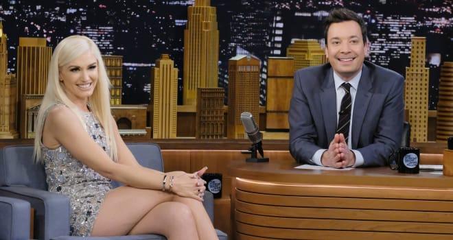 Gwen Stefani Visits 'The Tonight Show Starring Jimmy Fallon'