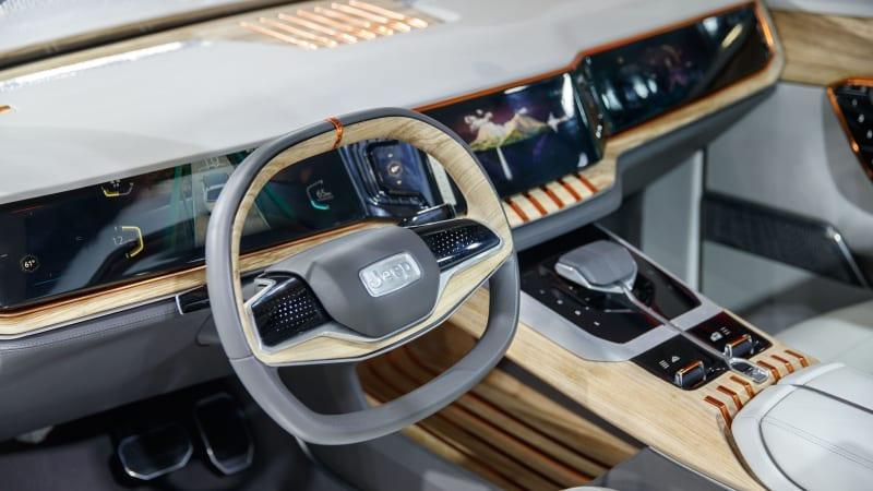 Jeep Yuntu PHEV concept interior