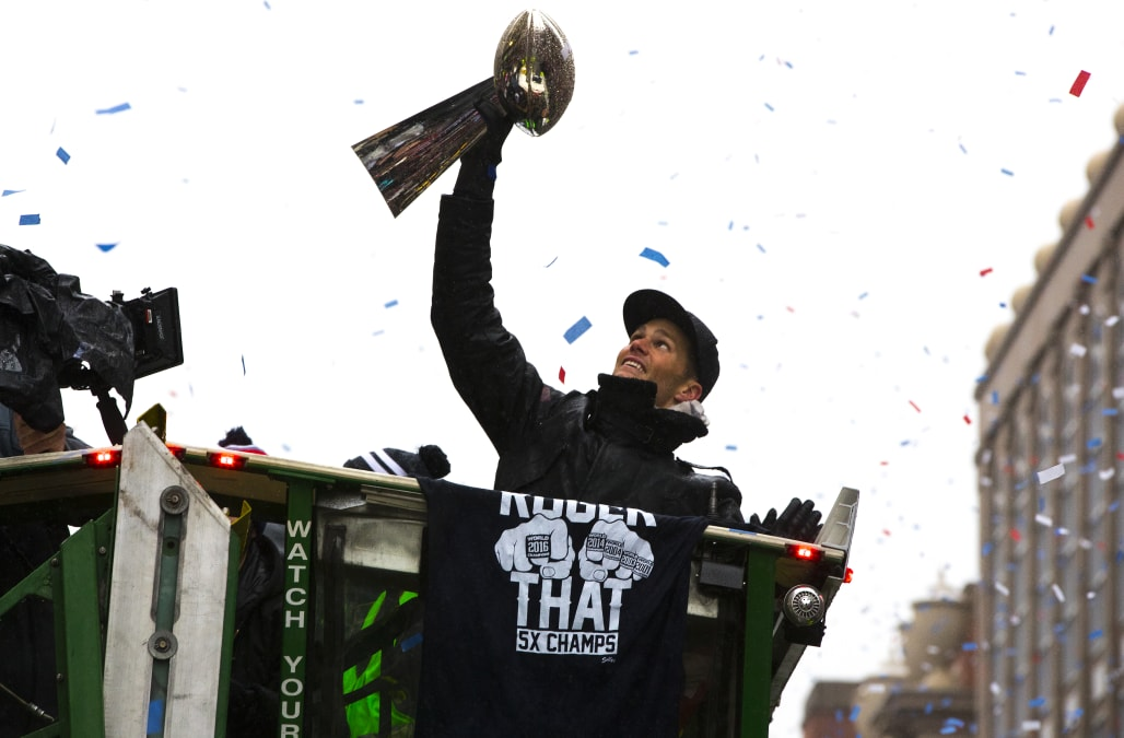 New England Patriots Super Bowl LI Victory Parade
