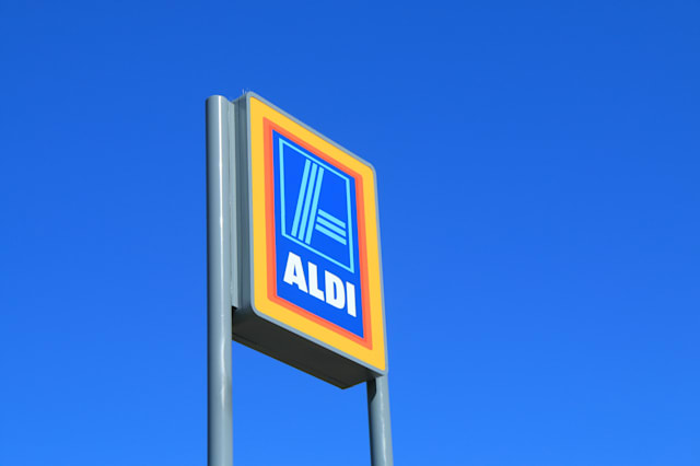 MELBOURNE AUSTRALIA - APRIL 25, 2014 : ALDI Supermarket. ALDI is a global discount supermarket chain based in Germany.