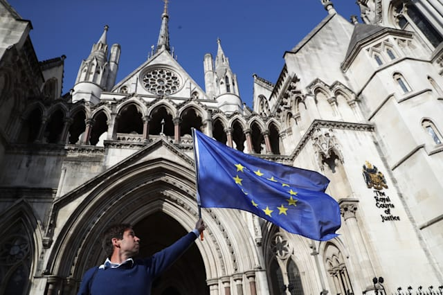 High Court Is Told That Theresa May Has No Legal Power To Start Brexit