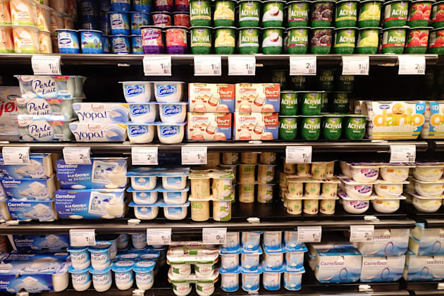 Yogurts. (Photo by: BSIP/UIG via Getty