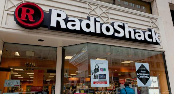 Radioshack storefront