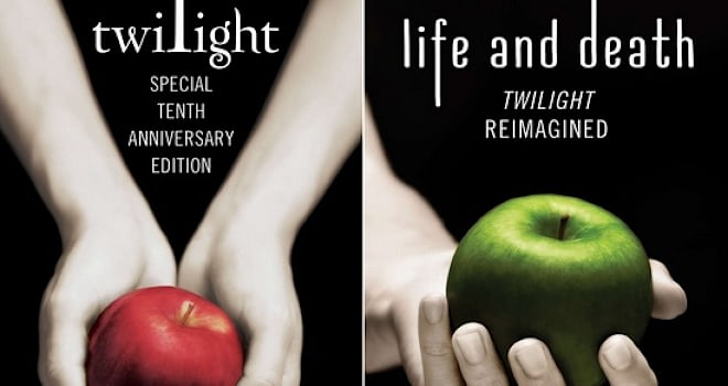 twilight, twilight 10th anniversary, life and death: twilight reimagined, gender swap