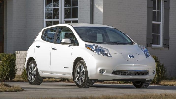 2015 Nissan Leaf electric car